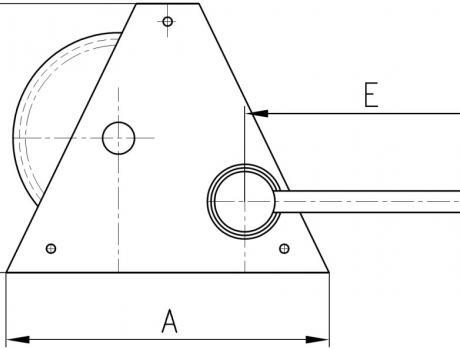 Лебедка ручная (тяжелый режим) HWG2000