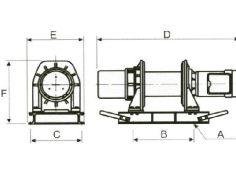 Лебедка электрическая KDJ-500Е1