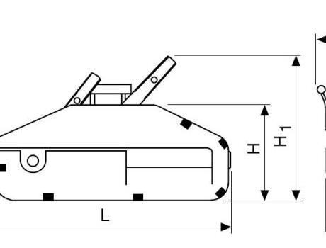 Монтажно-тяговый механизм (МТМ) г/п 3,2 т, 20 м